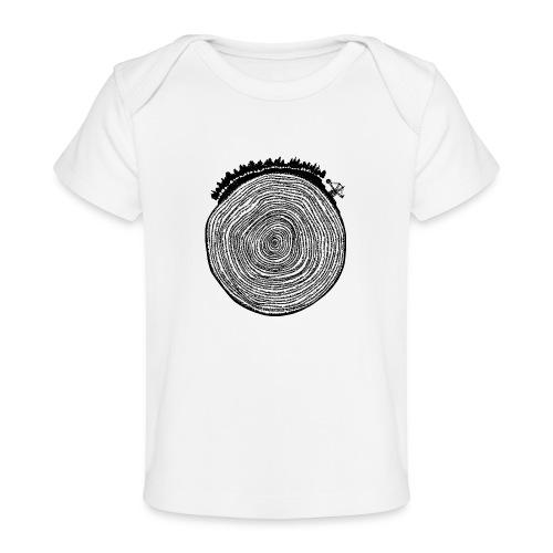 Kattoo Schwarz - Baby Bio-T-Shirt