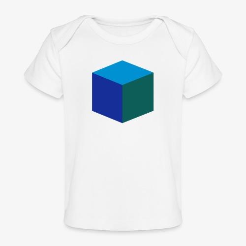 Cube - Økologisk baby-T-skjorte