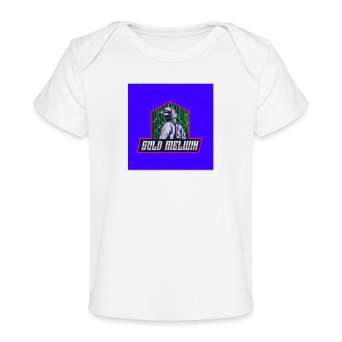 Guld Melwin - Ekologisk T-shirt baby
