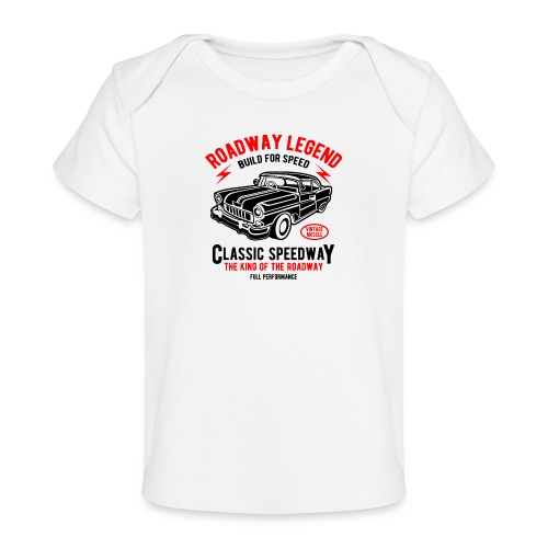 Roadway Legend Build for Speed - Baby bio-T-shirt