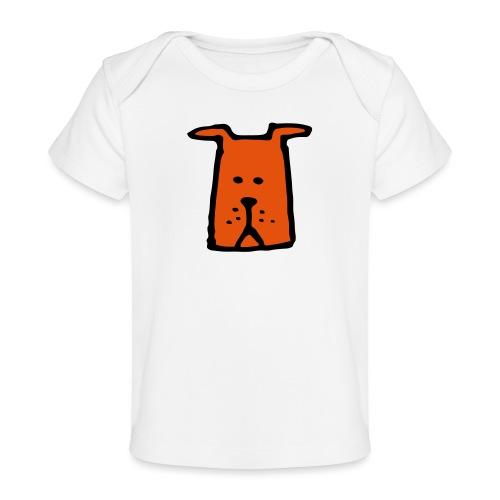 süßer Hund - Design - Geschenk für Kinder - Comic - Baby Bio-T-Shirt