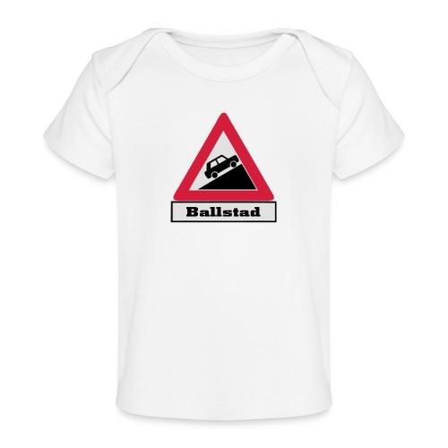 brattv ballstad a png - Økologisk baby-T-skjorte