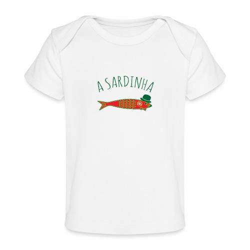 A Sardinha - Bandeira - T-shirt bio Bébé