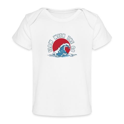 flow with the go - Ekologiczna koszulka dla niemowląt