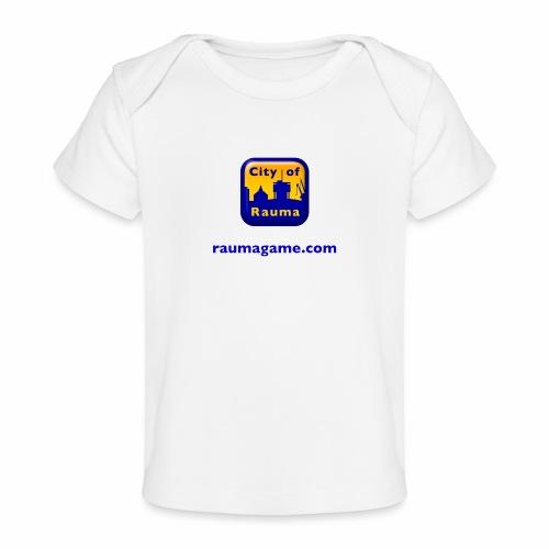 Raumagame logo - Vauvojen luomu-t-paita