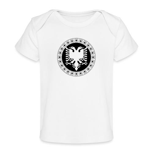 Albanien Schweiz Shirt - Baby Bio-T-Shirt