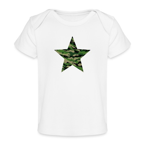 CamouflageStern - Baby Bio-T-Shirt
