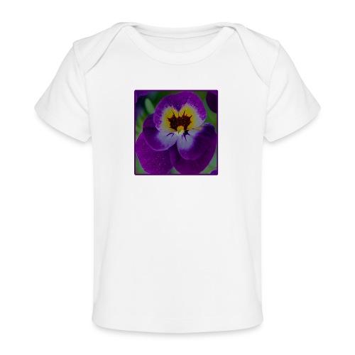 GARTENSTIEFMÜTTERCHEN - Baby Bio-T-Shirt
