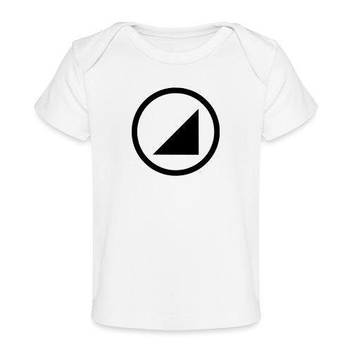bulgebull marca oscura - Camiseta orgánica para bebé