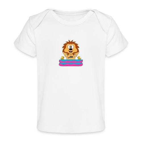 Lustiger Igel - Planschbecken - Aloha - Tier - Fun - Baby Bio-T-Shirt