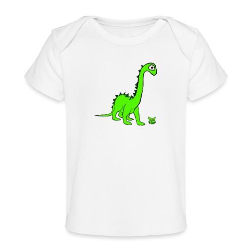 dinosauro - Maglietta ecologica per neonato