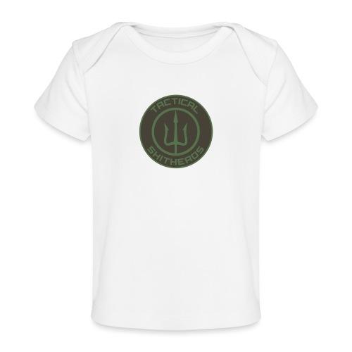 Tactical Shitheads Logo - Baby Bio-T-Shirt