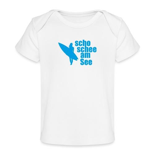 scho schee am See Surferin 03 - Baby Bio-T-Shirt