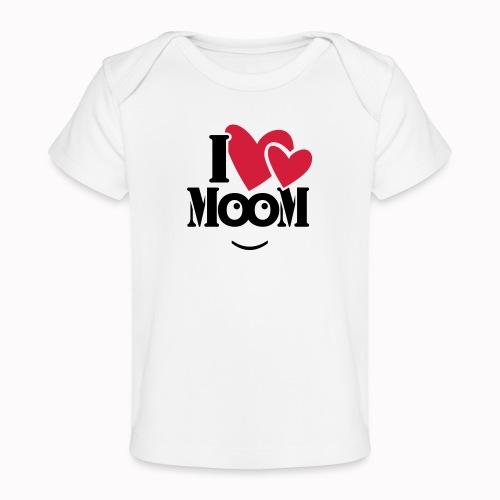 ilovemoom - Maglietta ecologica per neonato