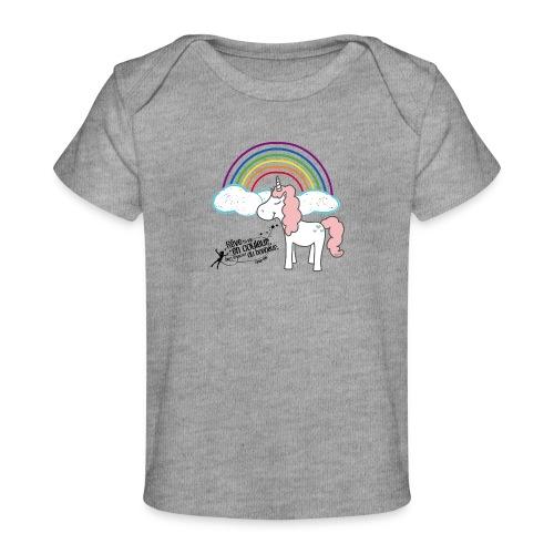 Licorne arc-en-ciel - T-shirt bio Bébé