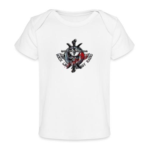 Blood Skull Logo - Ekologisk T-shirt baby