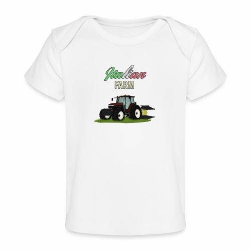 Italian Farm official T-SHIRT - Maglietta ecologica per neonato