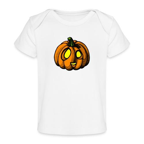 Pumpkin Halloween scribblesirii - Vauvojen luomu-t-paita
