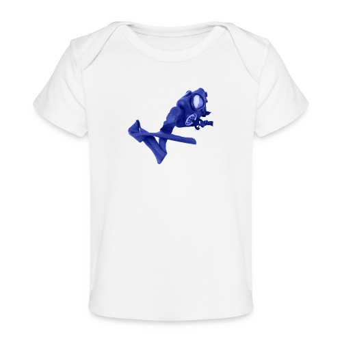 gas mask - Organic Baby T-Shirt