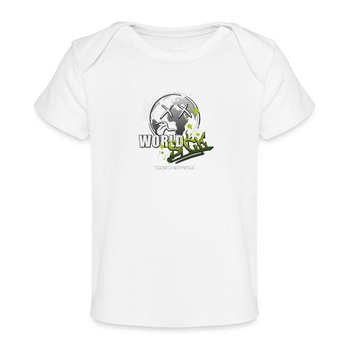 world sick - Baby Bio-T-Shirt