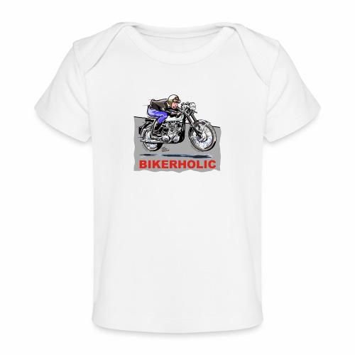bikerholic - Organic Baby T-Shirt