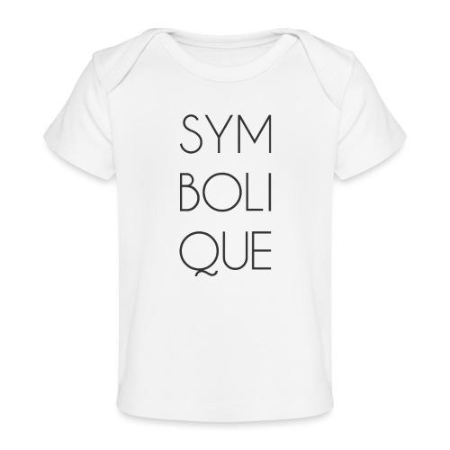 Symbolique - T-shirt bio Bébé