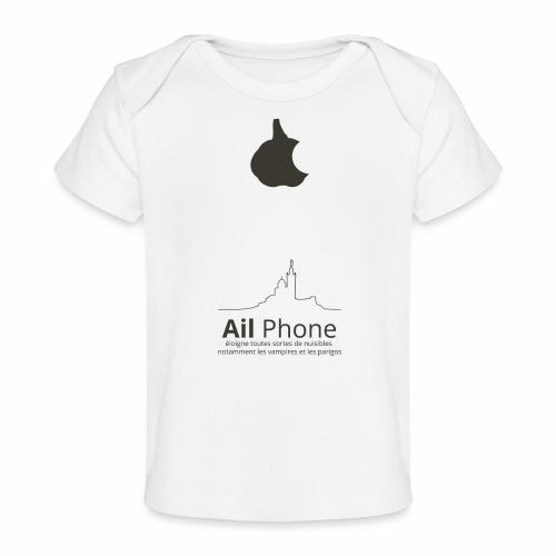 ailphoneok png - T-shirt bio Bébé