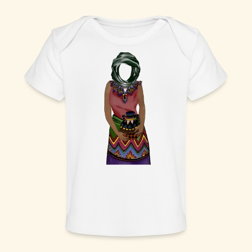 Femme avec jare - T-shirt bio Bébé
