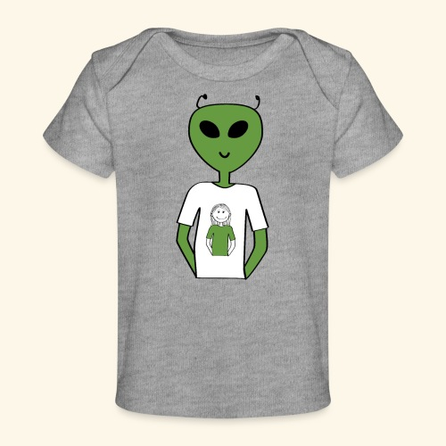 Alien human T-shirt T-shirt - Ekologisk T-shirt baby