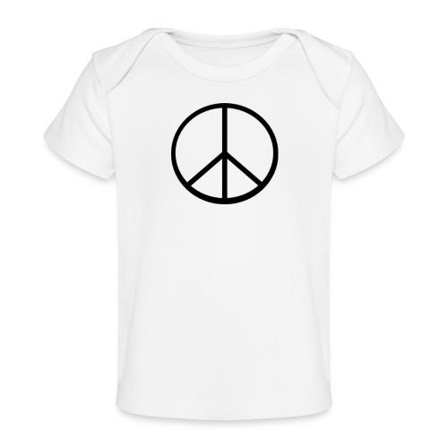 peace - Ekologisk T-shirt baby