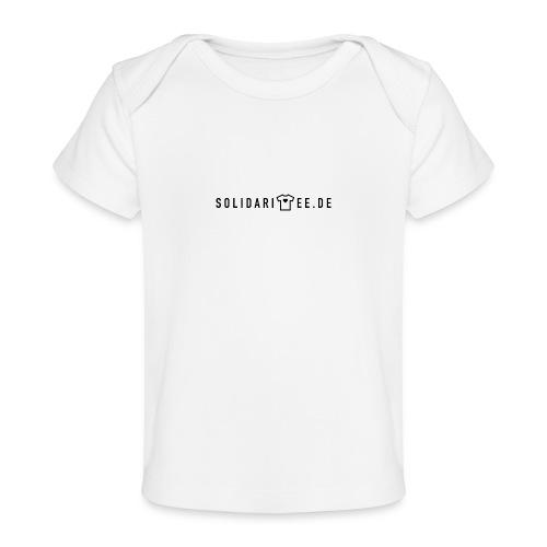SOLIDARITEE Logo 01 2000px transparent - Baby Bio-T-Shirt