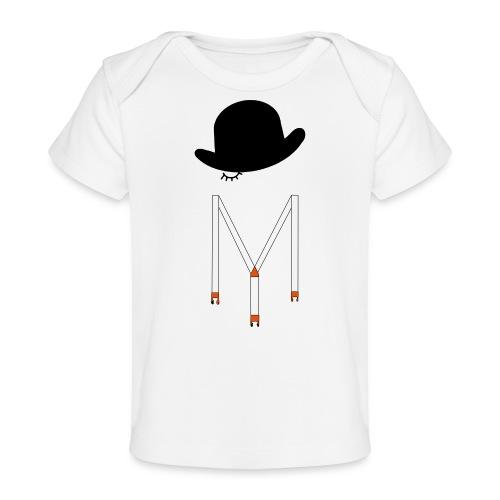 Orange Méca - T-shirt bio Bébé