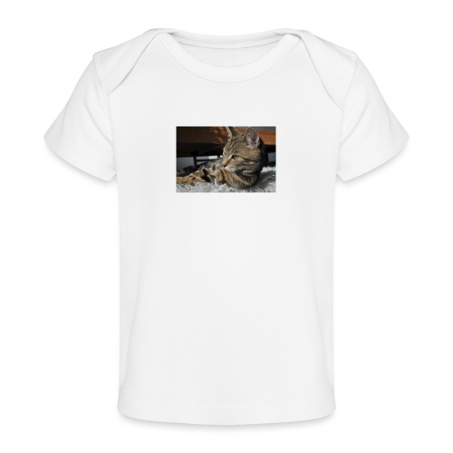 ILOVECATS Polo - Baby bio-T-shirt