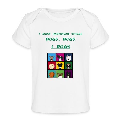 3 most important things - - Vauvojen luomu-t-paita