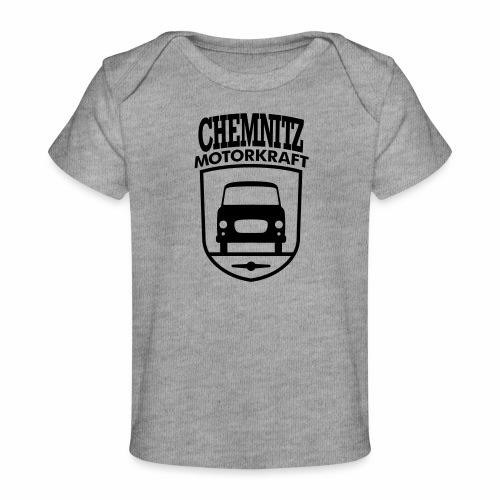 Barkas B1000 Motorkraft Chemnitz coat of arms - Organic Baby T-Shirt