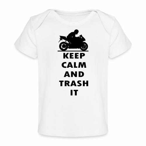 keep calm - Organic Baby T-Shirt