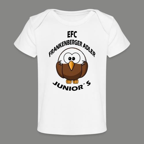 Junior Set in Schwarz - Baby Bio-T-Shirt