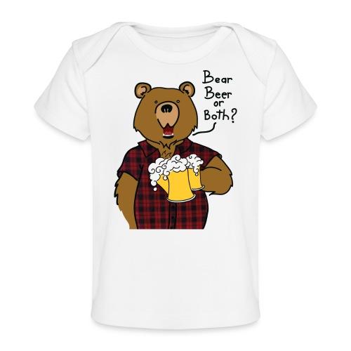 Beer and Bear - T-shirt bio Bébé