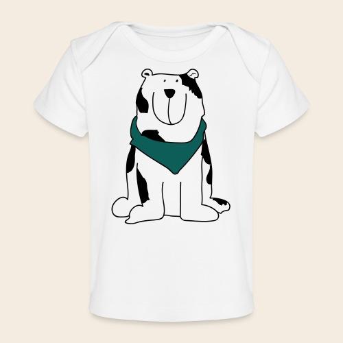 Gros chien mignon - T-shirt bio Bébé