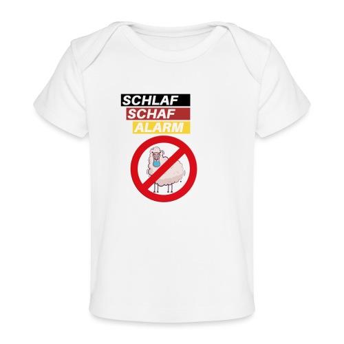 Schlaf-Schaf-Alarm - Baby Bio-T-Shirt