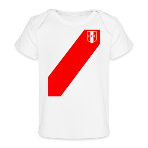 Seleccion peruana de futbol - Camiseta orgánica para bebé