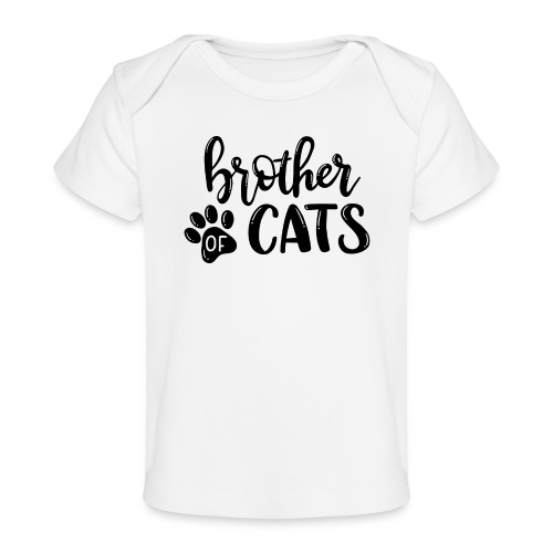 Brother of cats - Baby Bio-T-Shirt