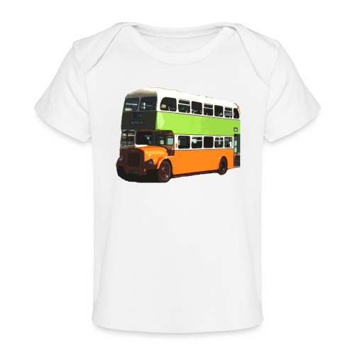 Glasgow Corporation Bus - Organic Baby T-Shirt