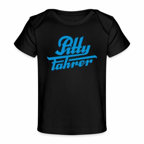 Pittyfahrer Logo - Organic Baby T-Shirt