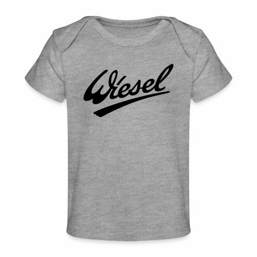 Wiesel Logo - Organic Baby T-Shirt