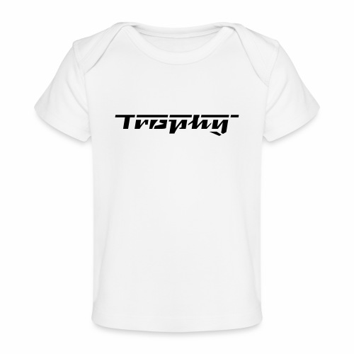 Trophy Schriftzug - Organic Baby T-Shirt