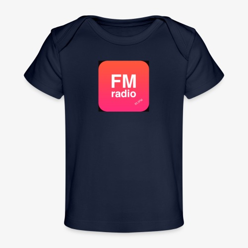logo radiofm93 - Baby bio-T-shirt