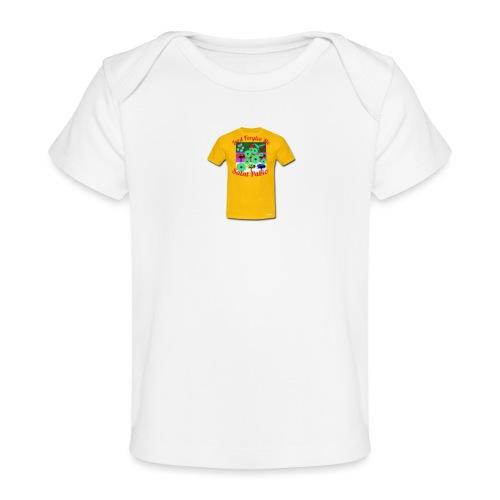 Castle design - Økologisk T-shirt til baby