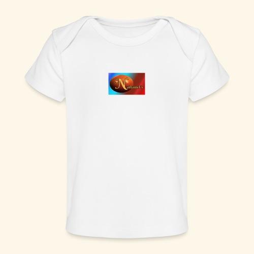 NathanielsLogo2 - Baby Bio-T-Shirt