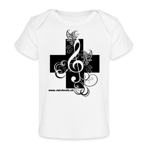 Swiss Beatz Logo non L - Baby Bio-T-Shirt